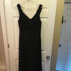 Dark Navy Blue/Black Gown Size 10